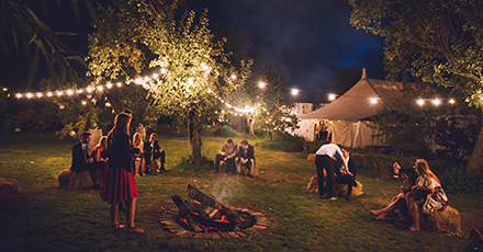 Festival Wedding Catering in Somerset
